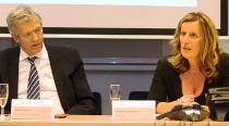 Magdaléna Dobišová from the Skanska SK company is the new President of Business Leaders Forum