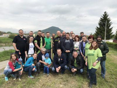 Aj vďaka dobrovoľníkom z Plzeňského Prazdroja Slovensko Veľký Šariš rozkvitá