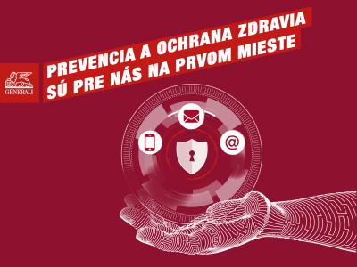Prevencia je na prvom mieste: Komunikovať s poisťovňou Generali môžete telefonicky alebo online