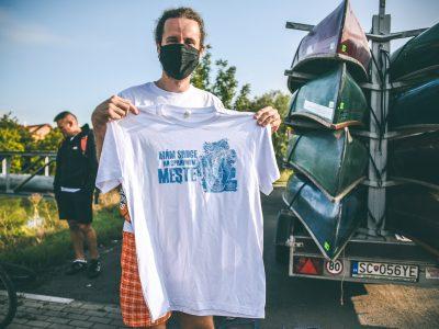 Ako bude vyzerať tričko pre dobrovoľníkov na Naše Mesto 2021?