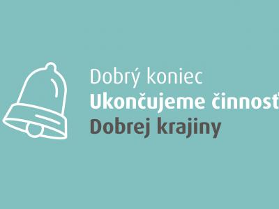 DobraKrajina.sk (tr.GoodCountry.sk) is closing down. You donated more than a million euros