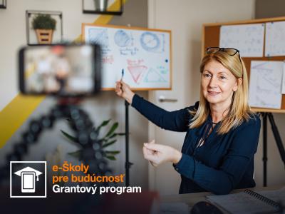 Nadácia Orange otvorila grantový program e-Školy pre budúcnosť