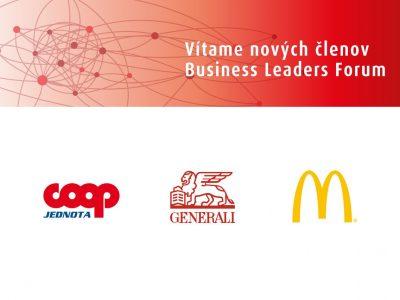 Združenie Business Leaders Forum prijalo nových členov