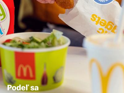 Kúpou Happy Mealu podporujú zákazníci McDonald's aktivity neziskovej organizácie Ronald McDonald House Charities