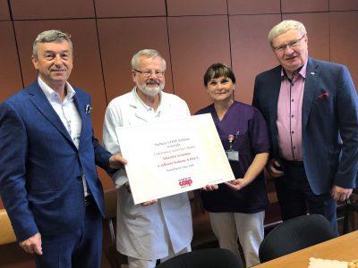 Nadácia COOP Jednota už šiestykrát podporila martinskú nemocnicu lekárskymi prístrojmi