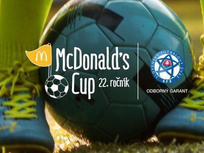 McDonald's spoločne so Slovenským futbalovým zväzom pripravili pre školákov jednoduché tréningy na doma