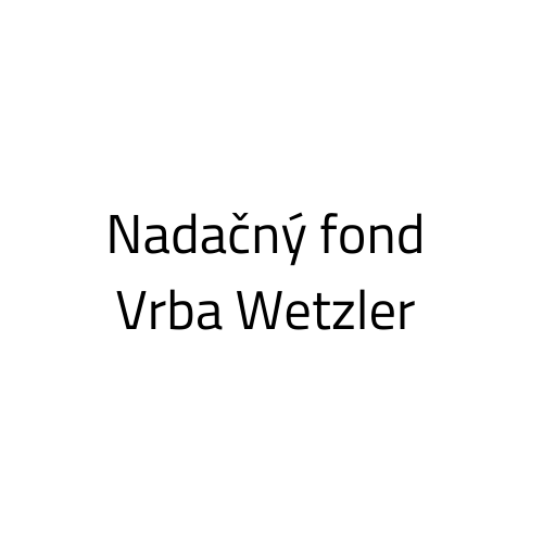 Nadačný fond Vrba Wetzler logo