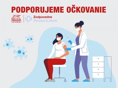 Poisťovňa Generali šíri osvetu o vakcinácii medzi zamestnancami aj verejnosťou