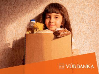 """Nová iniciatíva VÚB banky """"Podeľ sa o jedlo na Veľkú noc"""""""