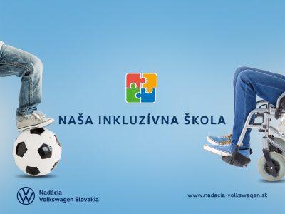 Nadácia Volkswagen Slovakia podporí inkluzívne vzdelávanie sumou 200 000 eur
