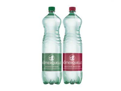 Coca‑Cola uvádza na slovenský trh vodu Römerquelle balenú do PET fliaš vyrobených zo 100 % recyklovaného materiálu