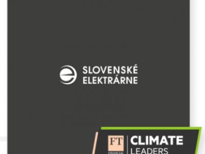 Financial Times zaradil Slovenské elektrárne medzi klimatických lídrov