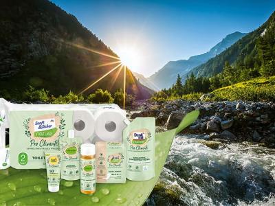 dm vyvinula produkty vlastných značiek, ktoré sú neutrálne k životnému prostrediu