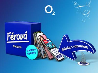 Z Férovej nadácie O2 poputuje vyše 60 000 EUR na projekty podporujúce návrat rozumu na internet