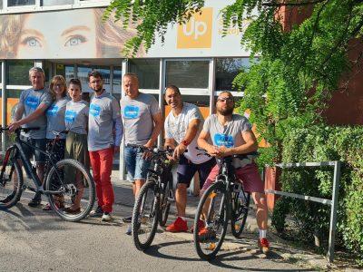 Zúčastnili sme sa kampane Do práce na bicykli